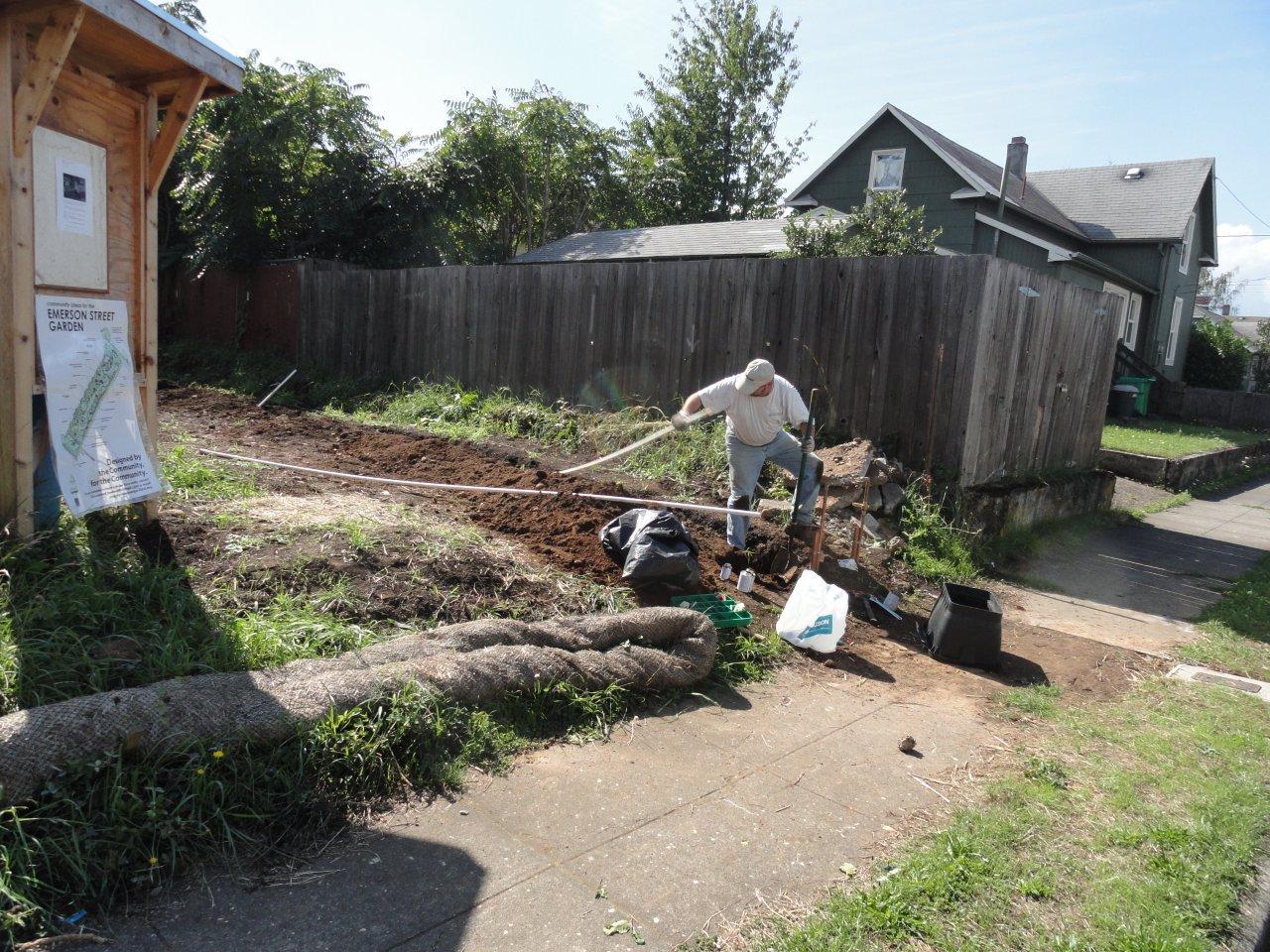 T e r r a f l u x u s emerson street garden update - Garden sheds oregon ...